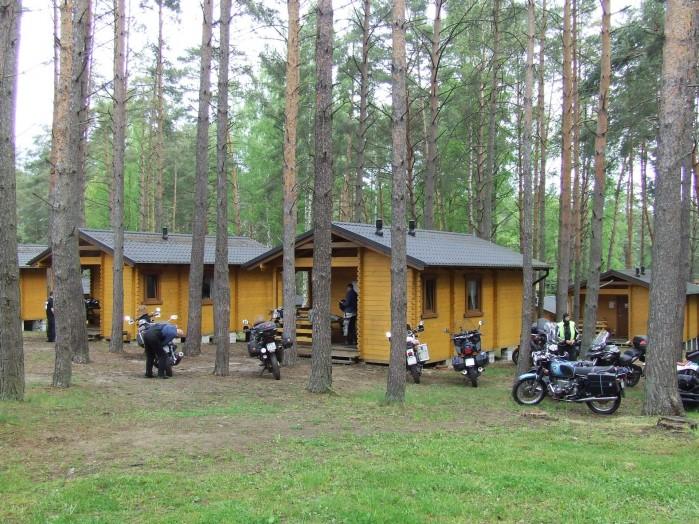04 Kamping nad jez Borzechowskim Miejsce zlotu poswieconego zelaznemu