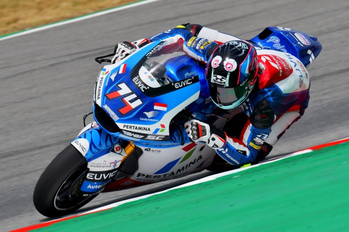 02 Piotr Biesiekirski Grand Prix Katalonii Moto2 2021