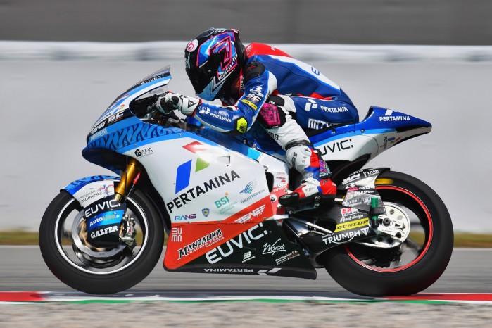 03 Piotr Biesiekirski Grand Prix Katalonii Moto2 2021