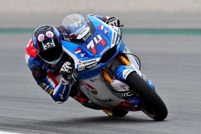 04 Piotr Biesiekirski Grand Prix Katalonii Moto2 2021
