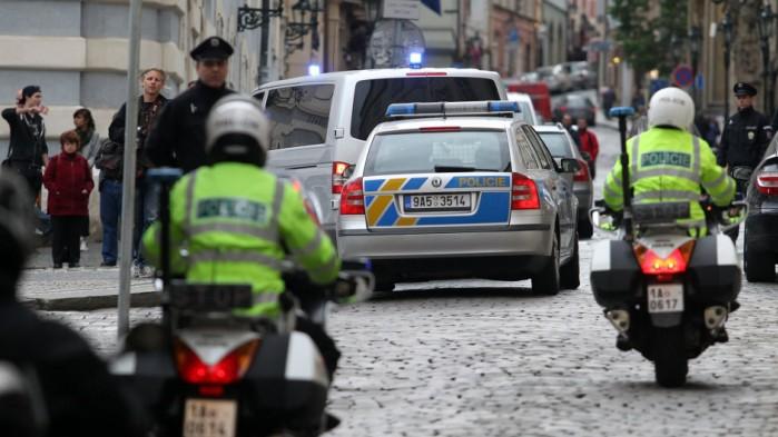 czeska policja z