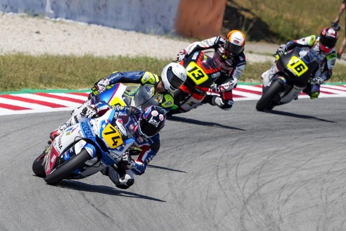 01 Piotr Biesiekirski Moto2 Barcelona