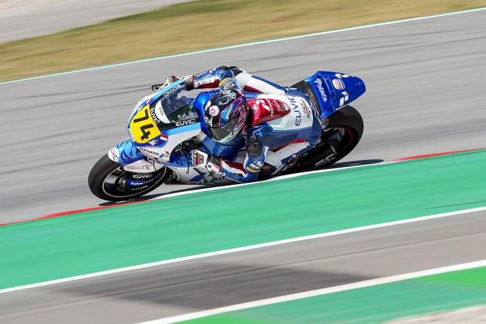 05 Piotr Biesiekirski Moto2 Barcelona