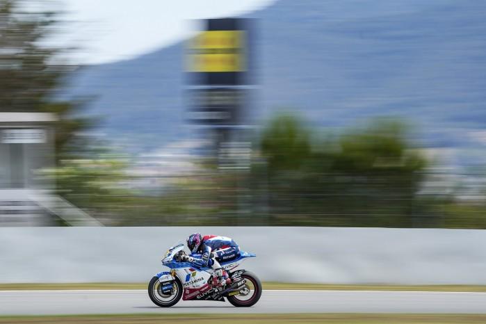 06 Piotr Biesiekirski Moto2 Barcelona