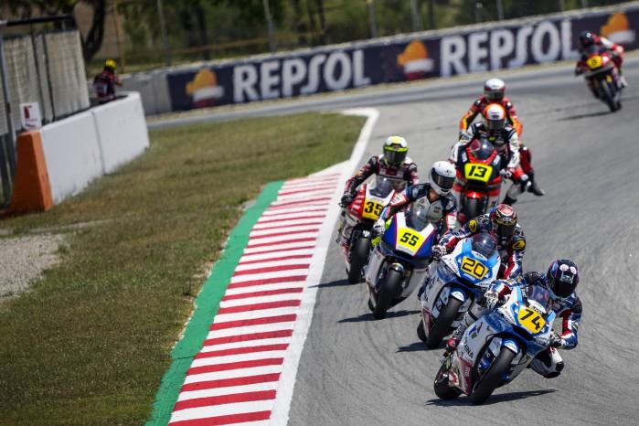 07 Piotr Biesiekirski Moto2 Barcelona