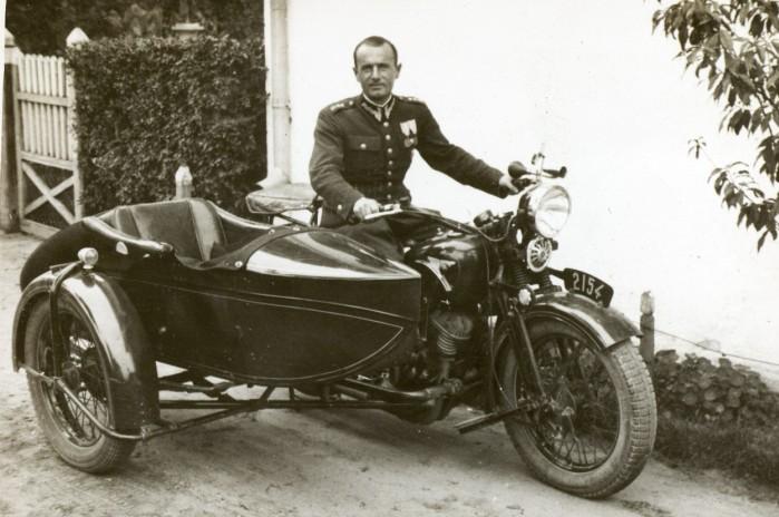 Motocykl CWS M111 Sok l 1000 M111 w Wojsku Polskim. Lata 30