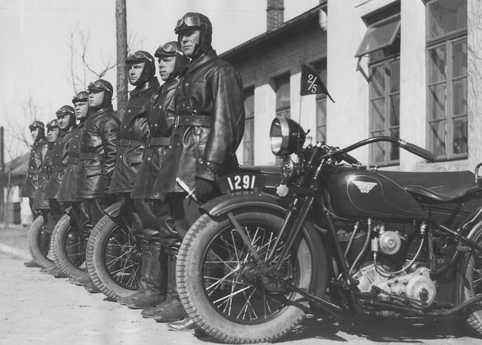 Motocykl CWS M111 Sok l 1000 M111 w Wojsku Polskim