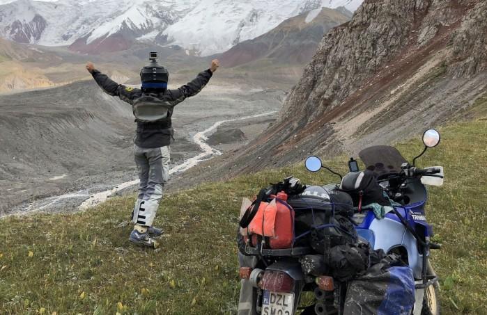 turystyka motocyklowa w pojedynke