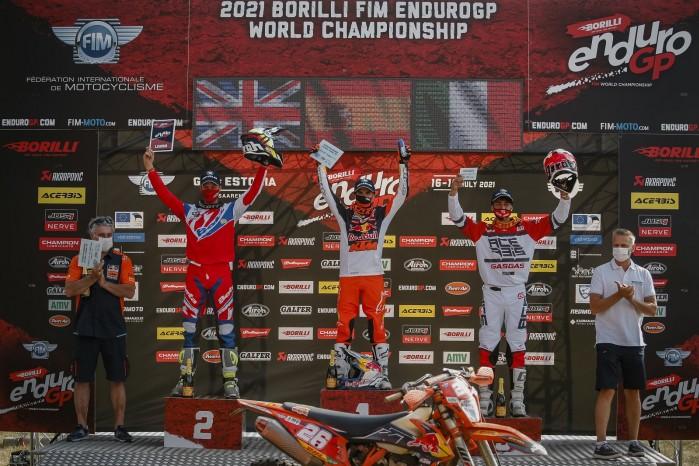 podium EnduroGP