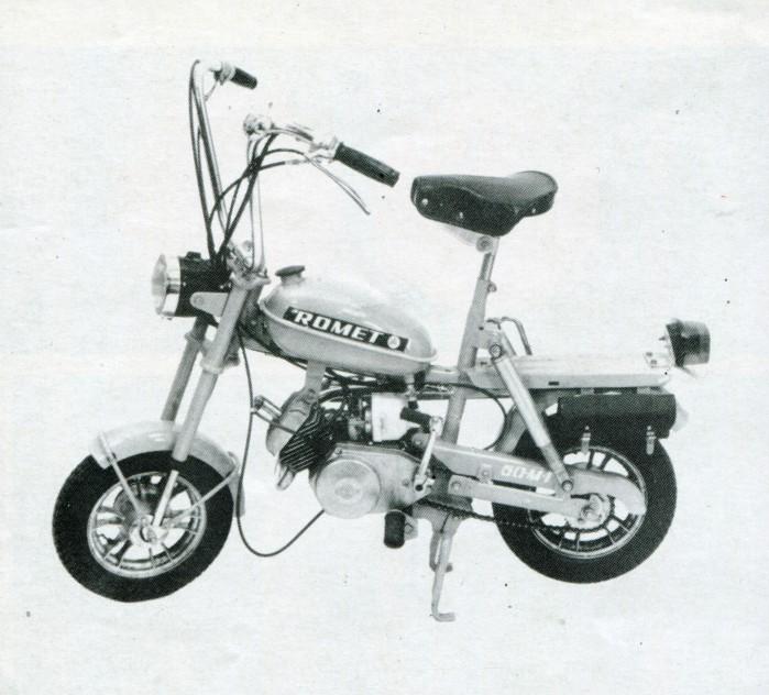 Motorynka Romet 50 M 1