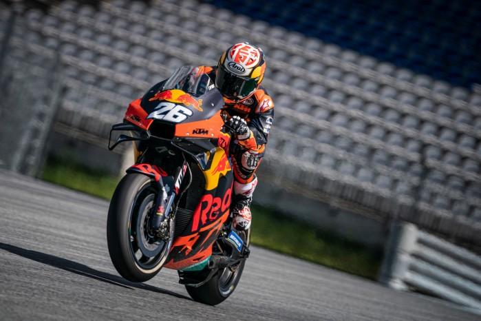 Dani Pedrosa Red Bull KTM Factory Racing