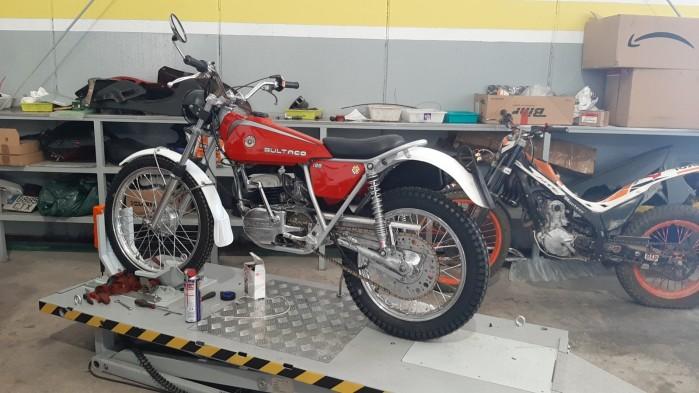 10 Moto Angeles bultaco