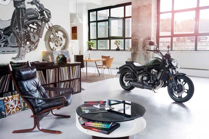 Vulcan S Kawasaki salon