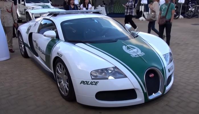 Bugatti Veyron policji w Dubaju