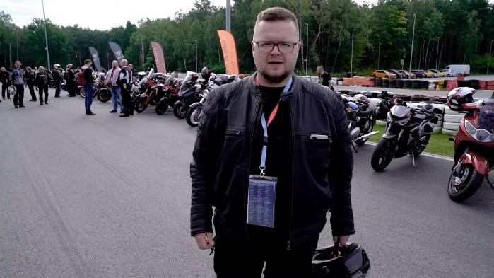 02 Rajd motocyklowy Industrialne Mazowsze 2021 Wojtek tor modlin