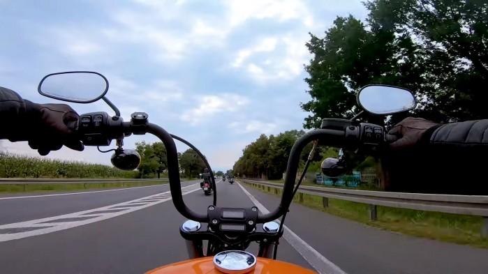 03 Rajd motocyklowy Industrialne Mazowsze 2021 zza kierownicy
