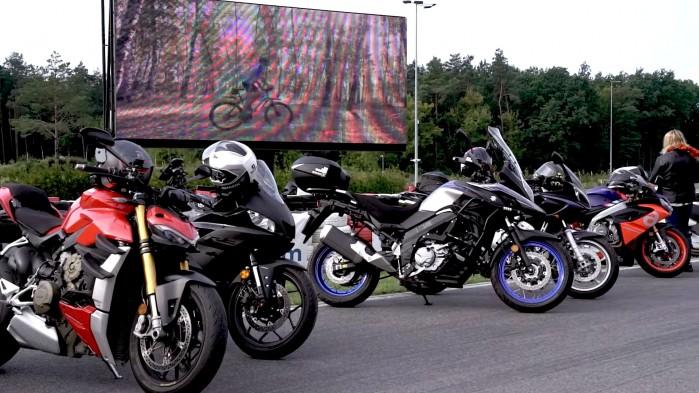 05 Rajd motocyklowy Industrialne Mazowsze 2021 motocykle