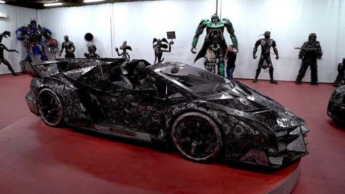 11 Rajd motocyklowy Industrialne Mazowsze 2021 zlomowisko przy czolgu
