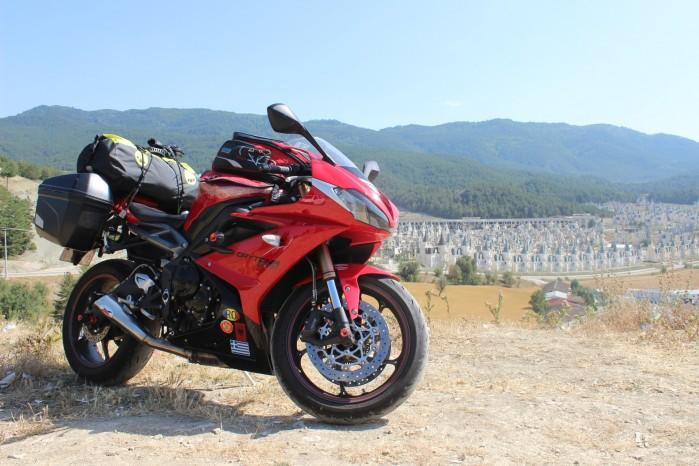 03 Turcja na motocyklu Tryumph Daytona