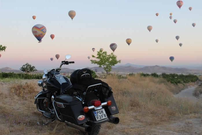 05 Harley Davidson Road King Balony Turcja