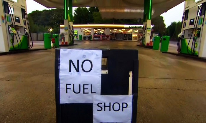 brak paliwa w uk 1