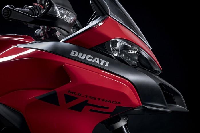 MY22 Ducati Multistrada V2 Red 130 UC338539 Low
