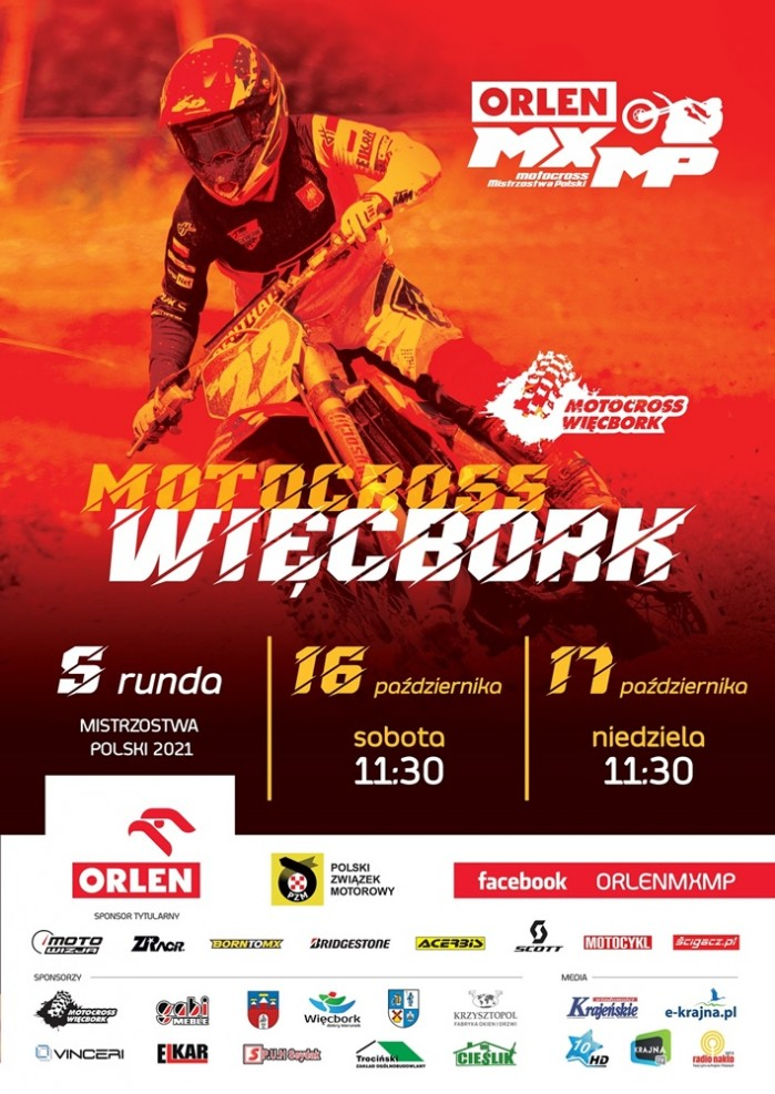 Plakat ORLEN MXMP Wi cbork