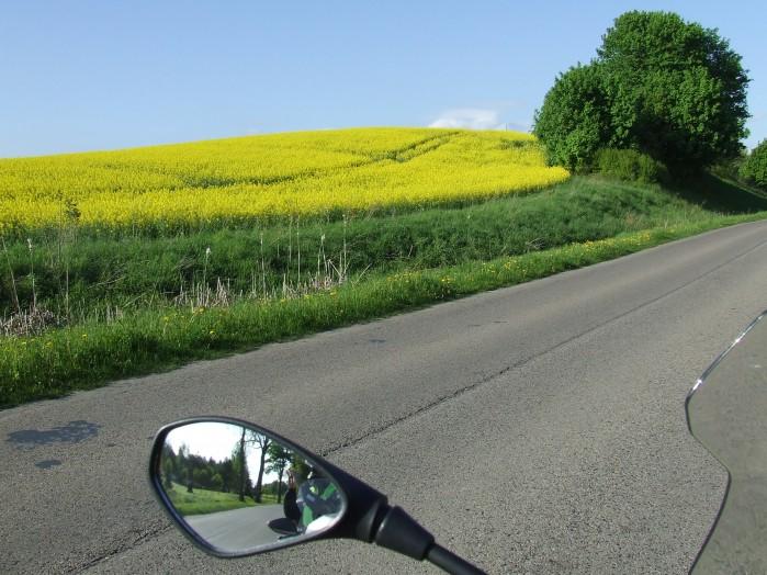 00 Na wiosne to dominujacy widok przy drogach Warmii