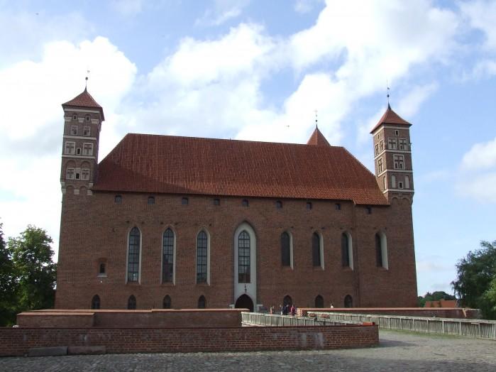 14 A to sredniowieczna siedziba czyli zamek biskupow warminskich