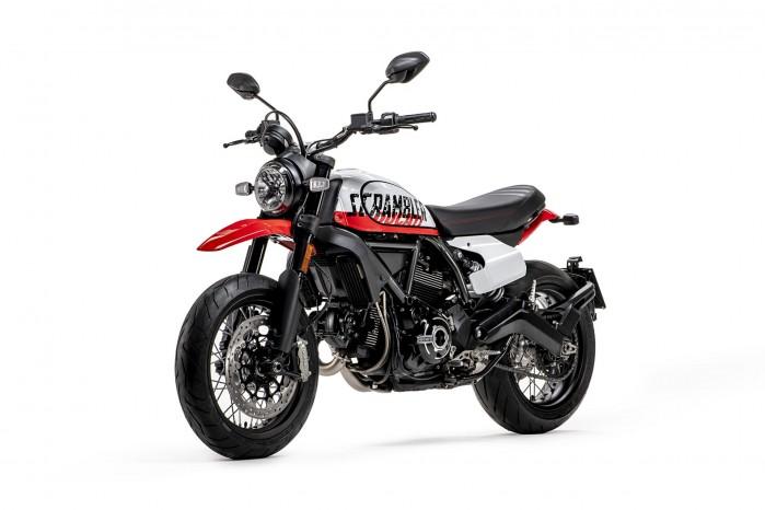 MY22 Ducati Scrambler Urban Motard