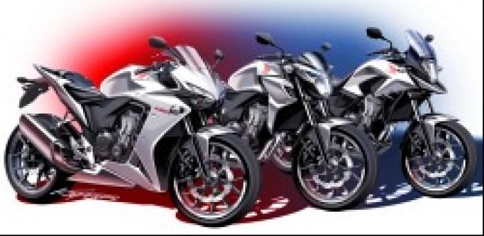 CBR500R CB500F CB500X Styling Design Sketch