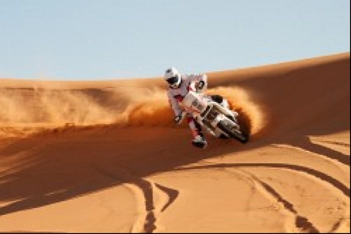 Maroko trening na pustyni