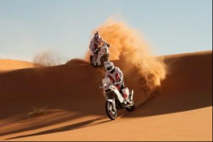 NaszDakar trening Maroko