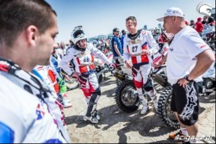 ekipa Nasz Dakar z Jackiem Czachorem