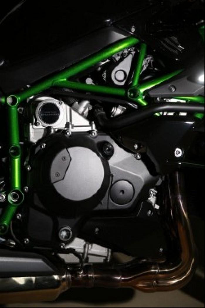 Kawasaki Ninja H2 silnik