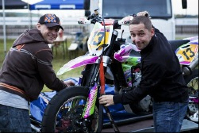 Wojciech Manczak motocykl