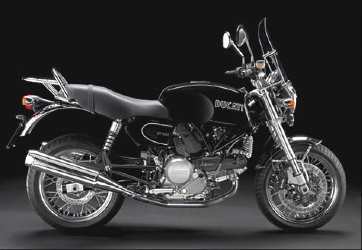 Ducati GT 1000 Touring bok