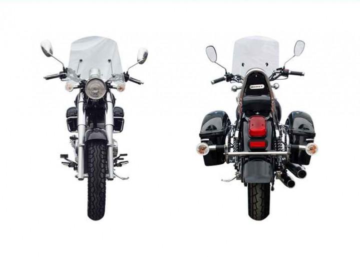 r250 romet motocykl przod tyl