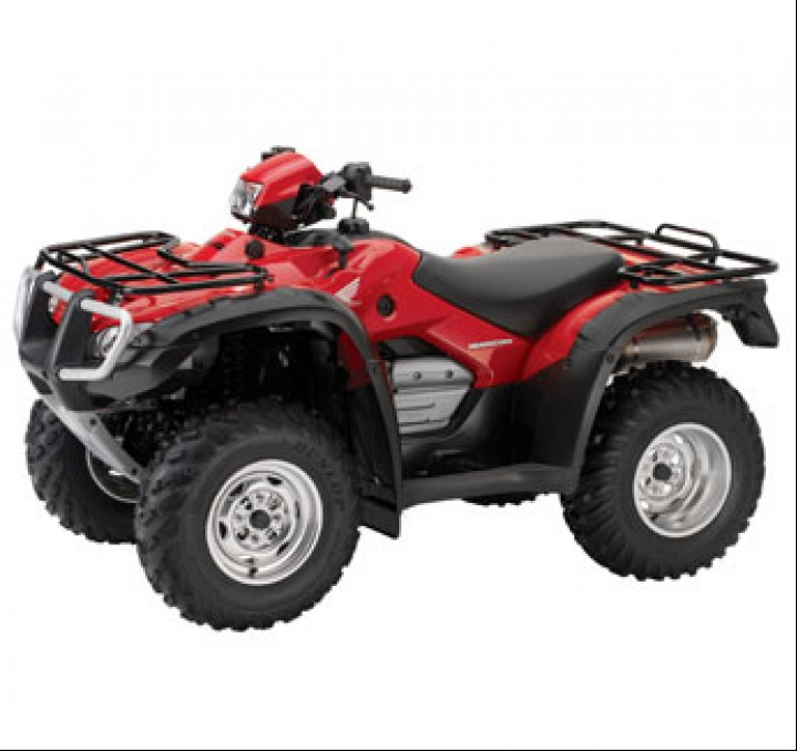 квадроцикл Honda trx 500 fa #7