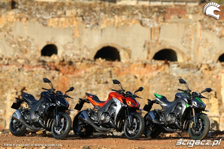 Nowe Kawasaki Z1000 MY 2014