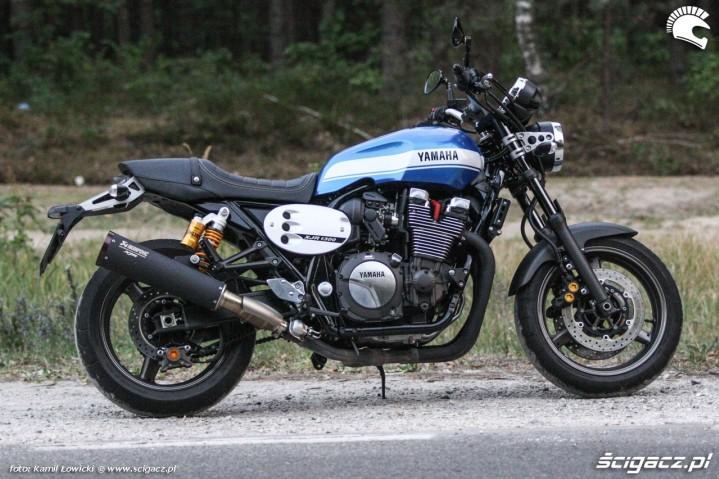 na drodze Yamaha XJR 1300 Scigacz pl