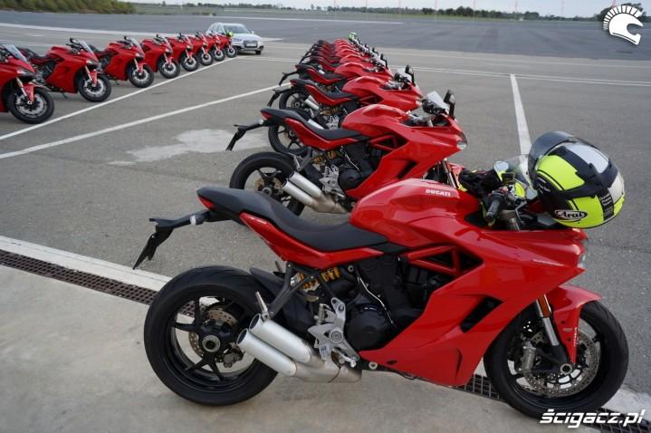 Ducati Supersport przed testem