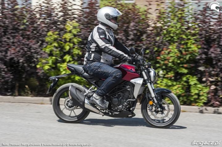 Honda CB300R 2018 w akcji