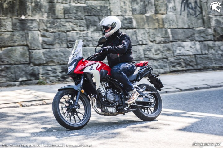 Honda CB500X test motocykla 2019 40