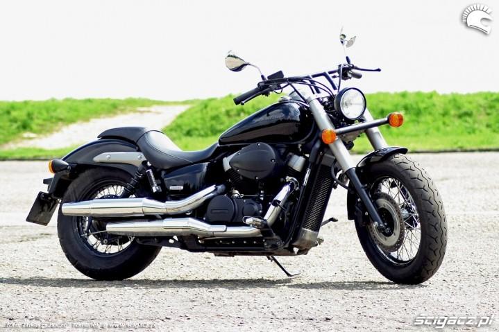 Honda Shadow Black Spirit prawy profl