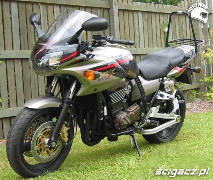 Kawasaki ZRX 1200 S stelaz