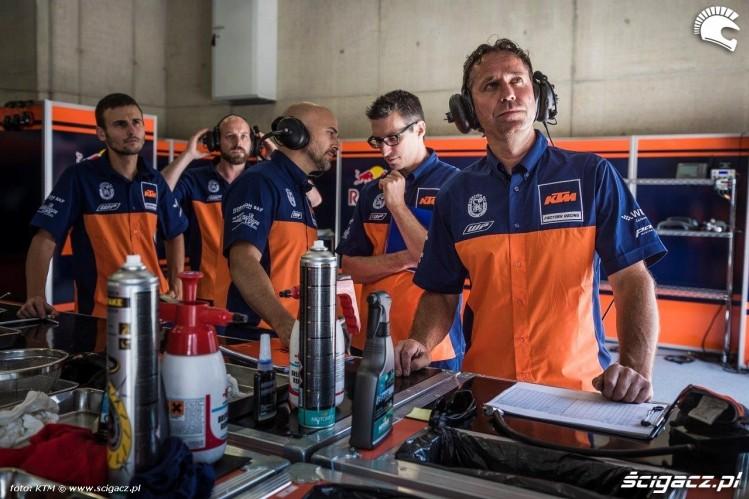 KTM RC16 2016 Mechanicy