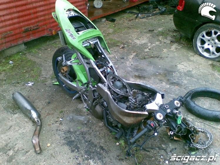 Smiertelny Wypadek motocyklowy