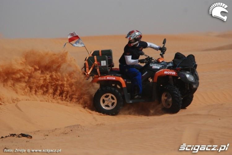 Kingway Dominator 700cc pustynia Sahara