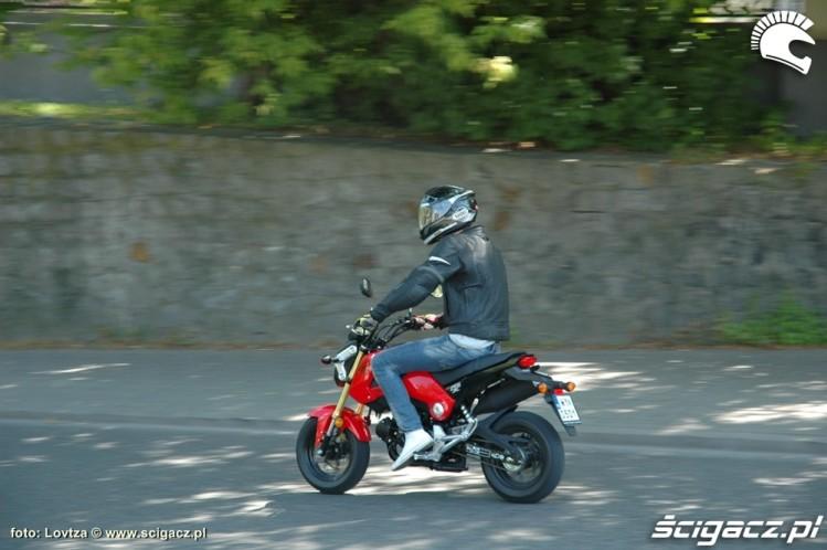 Honda MSX 125 2014 na miescie 2